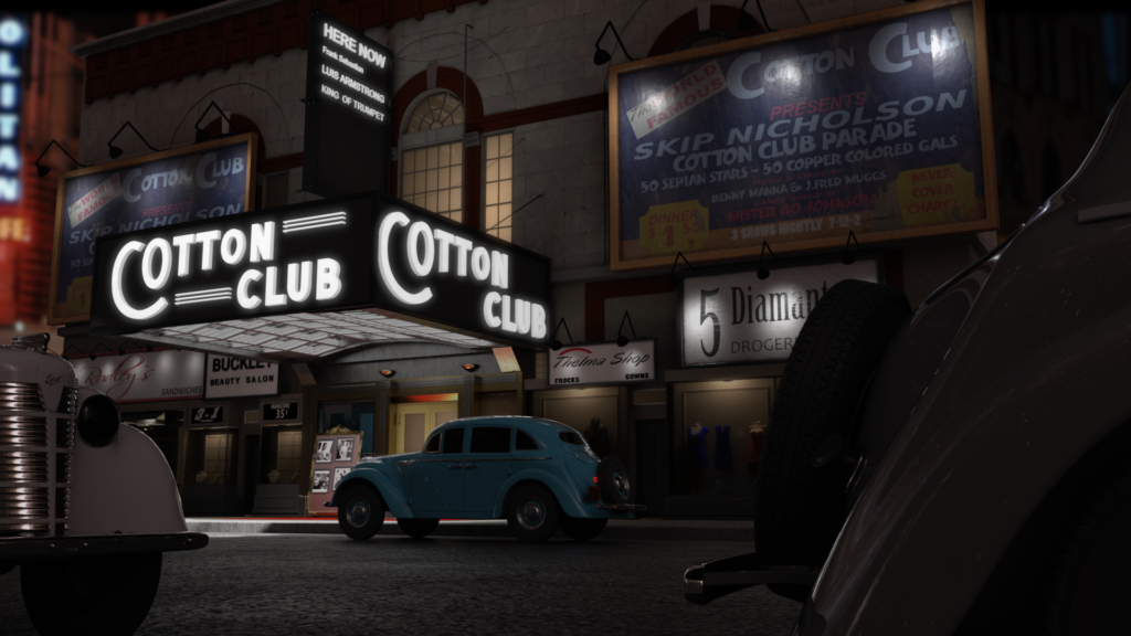 Render of the Cotton CLub
