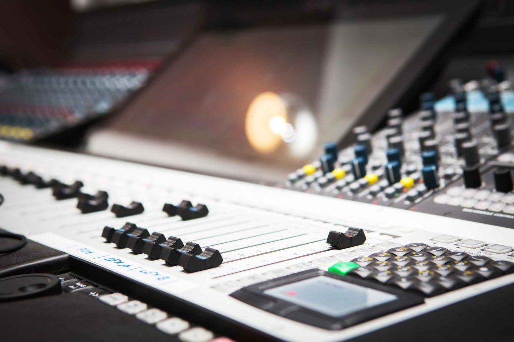 what is audio mixing cutting factory berlin sound desk close up