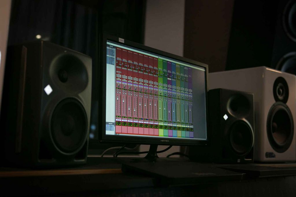 what is audio mixing cutting factory berlin speakers